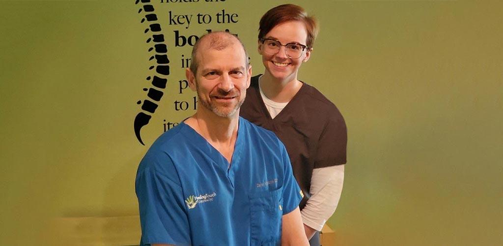 Chiropractor Loveland OH Dr Daren Mazzone and Brittney